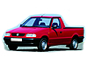 Volkswagen Caddy pickup (1996 to 2004) :