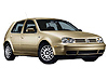 Volkswagen VW Golf five door (1998 to 2004)