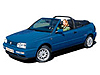Volkswagen VW Golf cabriolet (1994 to 1999)  :also known as - Volkswagen Golf III cabriolet
