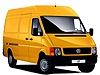 Volkswagen VW LT L1 (SWB) H2 (high roof) (1996 to 2006)  high roof:also known as - Volkswagen LT SWB high roof