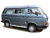 Volkswagen T3 Transporter H2 (high roof) (1980 to 1991)
