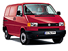 Volkswagen VW T4 Transporter L1 (SWB) H1 (low roof) (1991 to 2002)