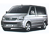 Volkswagen VW Caravelle (2003 to 2015)  3rd seat row removed:also known as - Volkswagen T5 Caravelle