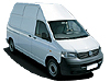 Volkswagen VW T5 Transporter L2 (LWB) H2 (high roof) (2003 to 2015)