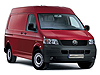 Volkswagen T5 Transporter L1 (SWB) H2 (high roof) (2003 to 2015)