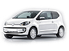 Volkswagen VW Up! three door (2011 onwards)  :