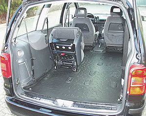 Carbox XXL mat for Ford Galaxy, Volkswagen Sharan and  Seat Alhambra