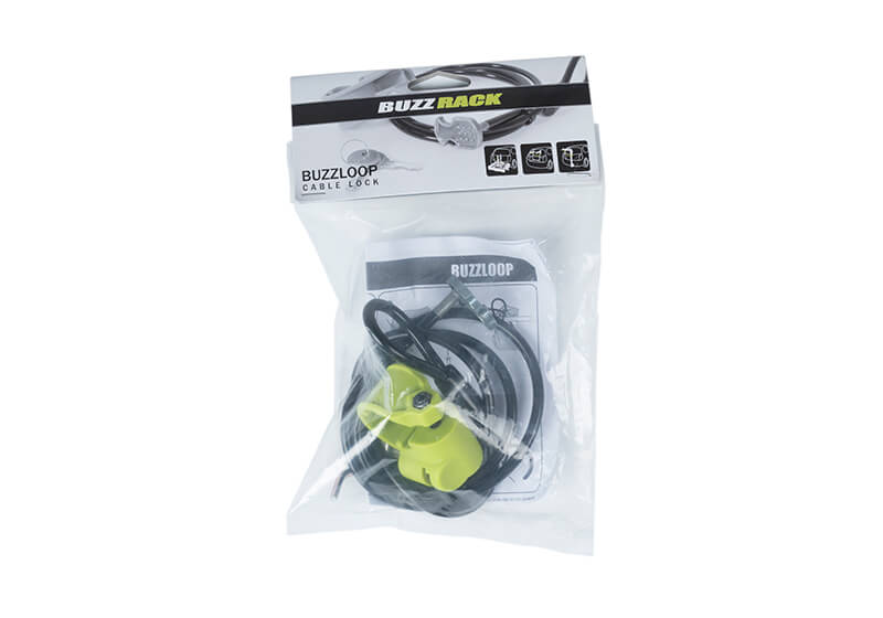 :BUZZ RACK Buzz Loop cable lock no. BRACL