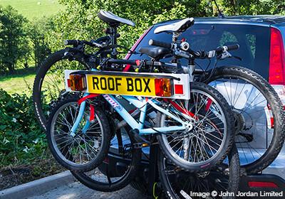 Buzz Rack Moose 3 Bike Tow Ball Carrier No Brh003