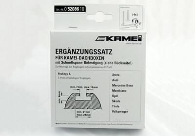 Kamei Corvara 20mm Box Adapters For T Track Bars No