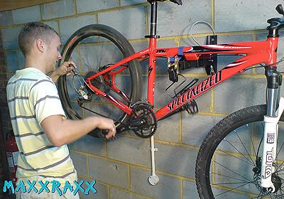 Maxxraxx Wall Storage Rack 2 Bikes No Mxawsr2