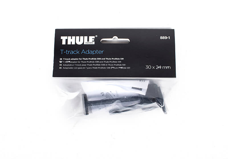 :Thule 591/598/599 T-track adapter set (30 x 24mm) for BMW aerobars no. 889-1