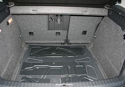 Vw Tiguan 07 16 For Cars With The Boot Floor In The