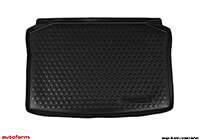 Volkswagen VW Polo Dune five door (2006 to 2009) :Autoform boot liner, black, no. ATL54155