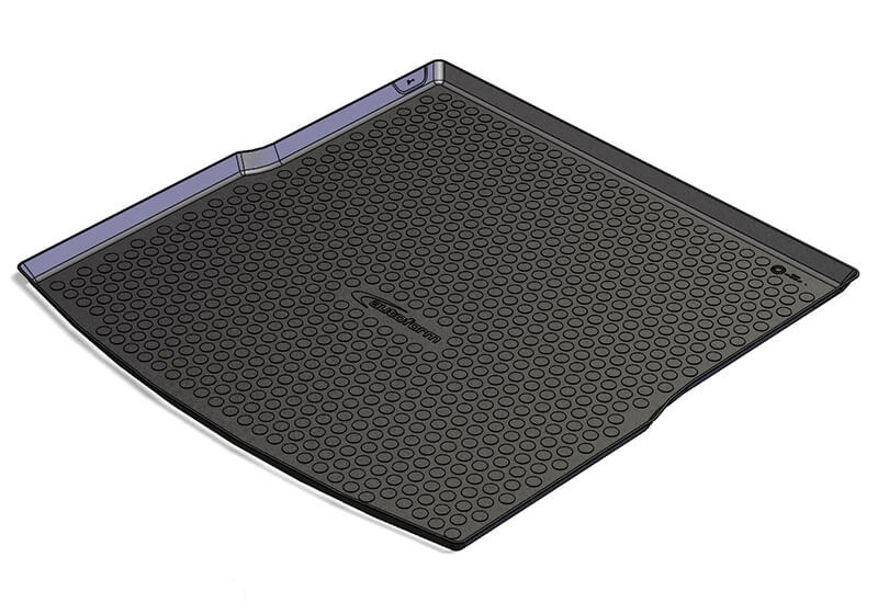 Volkswagen VW Golf estate (2007 to 2009):Autoform boot liner, black, no. ATL55135