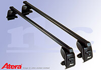 Hyundai i20 five door (2009 to 2015):Atera SIGNO AS steel roof bars no. AR4224