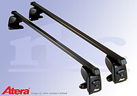 Toyota Yaris five door (1999 to 2006) :Atera SIGNO AS steel roof bars no. AR4007