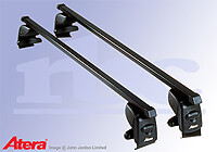 Kia Rio four door saloon (2000 to 2005) :Atera SIGNO AS steel roof bars no. AR4013