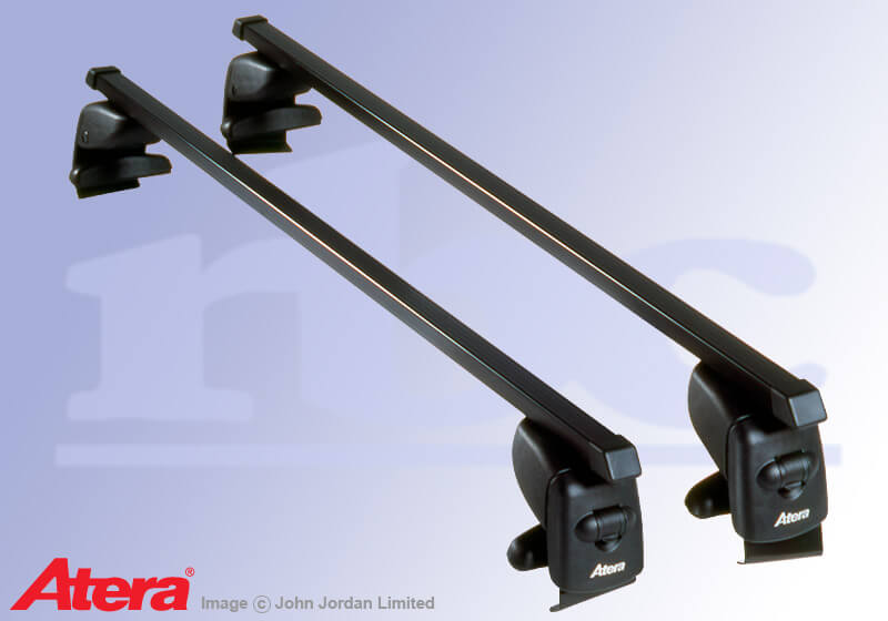 Kia Rio four door saloon (2000 to 2005):Atera SIGNO AS steel roof bars no. AR4013