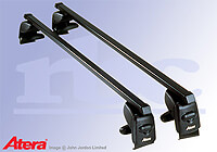Mercedes Benz C Class Sports Coupe (2001 to 2008) :Atera SIGNO AS steel roof bars no. AR4015