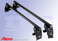 Mercedes Benz CLK (1997 to 2003) :Atera SIGNO AS steel roof bars no. AR4021