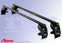 Ford Fiesta five door (2002 to 2008) :Atera SIGNO AS steel roof bars no. AR4026