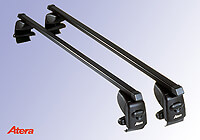 Volkswagen VW Polo three door (2005 to 2009) :Atera SIGNO AS steel roof bars no. AR4027