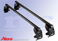 Volkswagen VW Polo five door (2002 to 2005) :Atera SIGNO AS steel roof bars no. AR4028