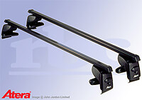 Citroen C3 five door (2002 to 2010) :Atera SIGNO AS steel roof bars no. AR4029