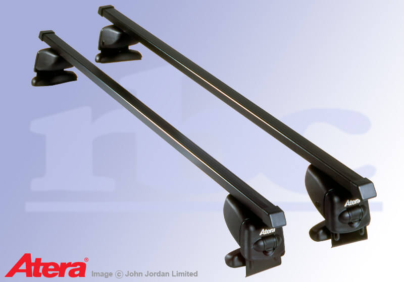 Renault Laguna estate (2001 to 2007):Atera SIGNO AS steel roof bars no. AR4034