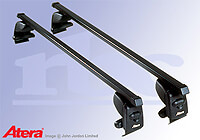 Seat Ibiza three door (2002 to 2008) :Atera SIGNO AS steel roof bars no. AR4039