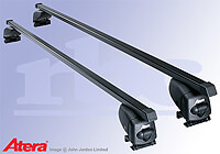 Mercedes Benz Vito L1 (SWB) H1 (low roof) (2004 to 2015) :Atera SIGNO AS steel roof bars no. AR4048