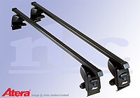 Volkswagen VW Golf five door (2008 to 2013) :Atera SIGNO AS steel roof bars no. AR4050
