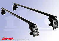 Audi A8 four door saloon (2002 to 2010) :Atera SIGNO AS steel roof bars no. AR4064