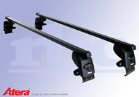 Toyota Verso-S (2011 onwards) :Atera SIGNO AS steel roof bars no. AR4258