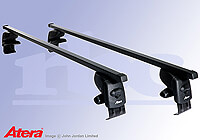 Skoda Fabia five door (2007 to 2014) :Atera SIGNO AS steel roof bars no. AR4099
