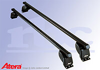 Renault Espace (2003 to 2015) :Atera SIGNO ASF Fixpoint steel roof bars no. AR4110