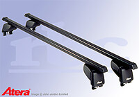 Renault Scenic (2003 to 2009) :Atera SIGNO ASF Fixpoint steel roof bars no. AR4118