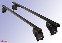 Mercedes Benz A Class five door (2005 to 2012):Atera SIGNO ASF Fixpoint steel roof bars no. AR4132