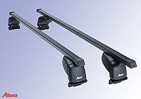 Suzuki Grand Vitara three door (2005 to 2015) :Atera SIGNO ASF Fixpoint steel roof bars no. AR4147