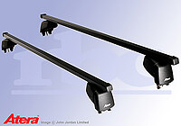 Mitsubishi Lancer four door saloon (2008 onwards) :Atera SIGNO ASF Fixpoint steel roof bars no. AR4161