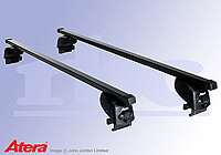 Renault Laguna Sport Tourer (2008 to 2015) :Atera SIGNO AS steel roof bars no. AR4207