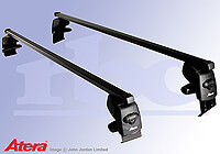 Honda Accord four door saloon (2008 onwards) :Atera SIGNO AS steel roof bars no. AR4212