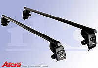 Vauxhall Insignia four door saloon (2008 onwards) :Atera SIGNO ASF Fixpoint steel roof bars no. AR4219