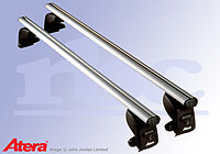 Hyundai Santa Fe (2000 to 2006):Atera SIGNO AS aluminium roof bars no. AR5002