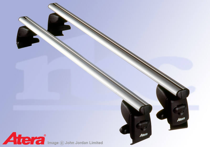 Kia Rio four door saloon (2000 to 2005):Atera SIGNO AS aluminium roof bars no. AR5013