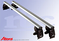 Mercedes Benz C Class Sports Coupe (2001 to 2008) :Atera SIGNO AS aluminium roof bars no. AR5015