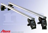 Mercedes Benz CLK (1997 to 2003) :Atera SIGNO AS aluminium roof bars no. AR5021