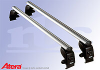 Ford Fiesta five door (2002 to 2008) :Atera SIGNO AS aluminium roof bars no. AR5026