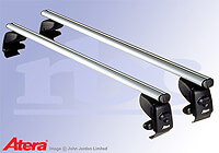 Volkswagen VW Polo three door (2005 to 2009) :Atera SIGNO AS aluminium roof bars no. AR5027